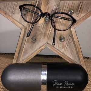 Jean Reno By Cendrine O Eyeglass Frame